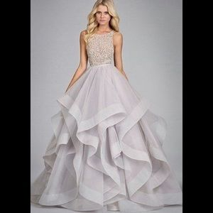 Hayley paige dori embellished tulle wedding gown